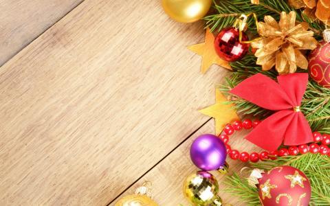 新的一年,圣诞装饰品,弓