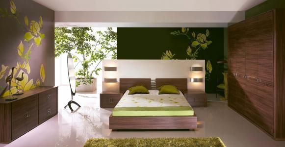 风格,房子,别墅,室内,设计,卧室