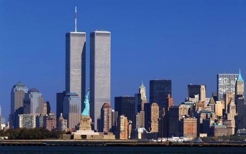 双塔,纽约,Wtc,纽约,世界贸易中心,双塔