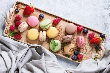 美食甜品马卡龙