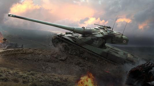 坦克世界,Wargaming Net,WoT,坦克世界,WG,AMX 50 B