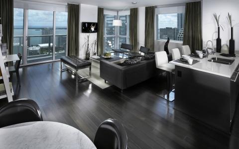 大城市,室内,设计,公寓,风格