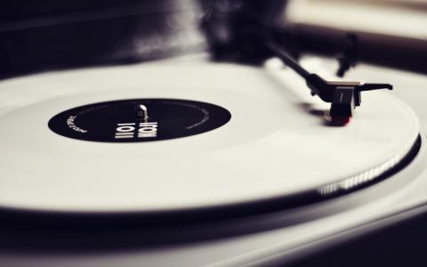 音乐,乙烯基,记录,转盘,音乐,播放器