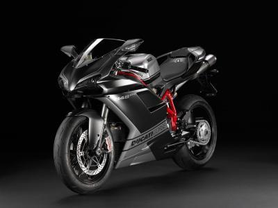 摩托车,杜卡迪,黑色,Sportbike