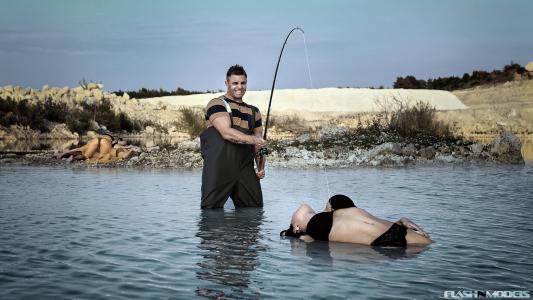 FLASHnMODELS,创意,钓鱼
