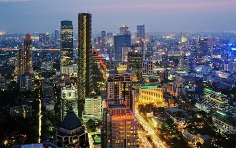 泰国,城市,曼谷,泰国,城市,曼谷