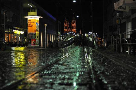 城市,夜晚,性质