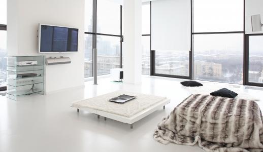 风格,设计,城市公寓,大都市,室内