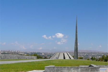 亚美尼亚,这个城市,埃里温,Tsitsernakaberd,亚美尼亚的种族灭绝