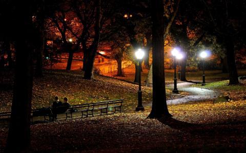 纽约,晚上,纽约,纽约,晚上