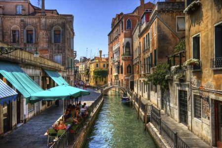 运河,意大利,威尼斯