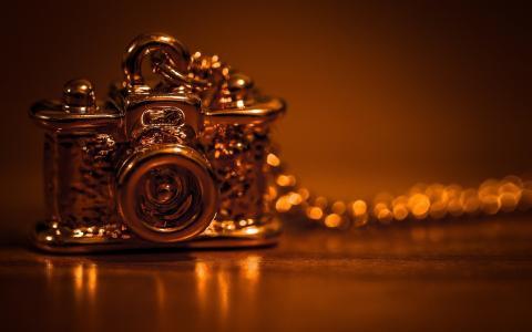 装饰品,风格,相机,吊坠