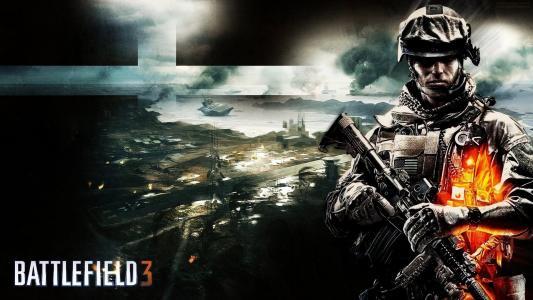 战地3,游戏,战斗,机枪