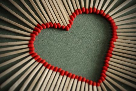 照片,创意,心,爱,爱,灰色的背景
