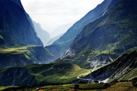 山,丽江,照片,自然,风景,西藏