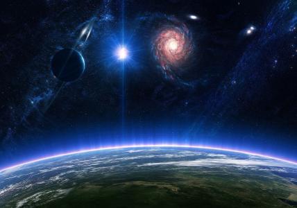 气氛,星,行星,宇宙,表面