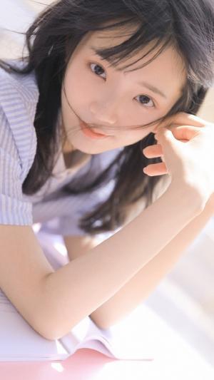 清纯小清新学生妹甜美可爱写真