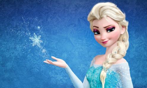 艾尔莎,冰雪,雪之女王