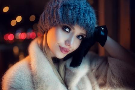 摄影师伊万·戈罗霍夫,女孩,模特