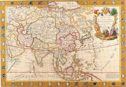 地图,旧城区,俄罗斯