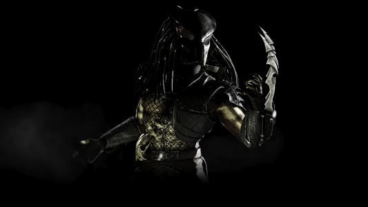 捕食者,字符,幻想,捕食者,黑暗的背景