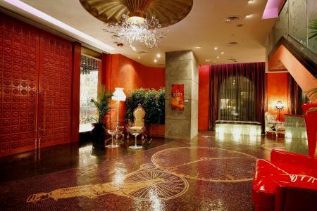 大厅,绘图,枝形吊灯,室内,家具,马赛克