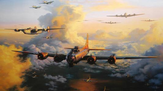 轰炸机,飞行堡垒,波音B-17飞行堡垒