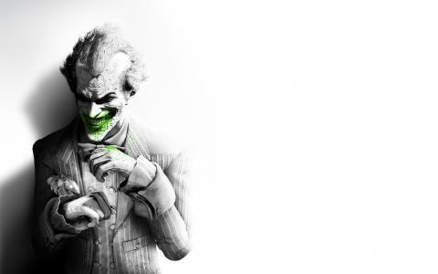 阿卡姆市,蝙蝠侠,小丑