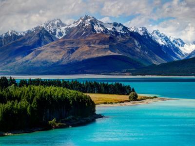 湖,特卡波,新西兰