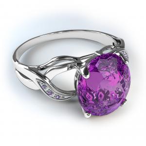 戒指,石头,珍贵,白色背景
