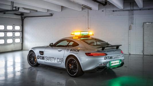 车库,2015年,工作室AMG,调整,奔驰,GT,S,DTM,后视图