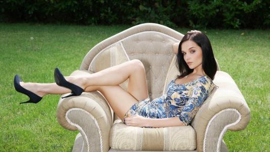 女孩,模型,腿