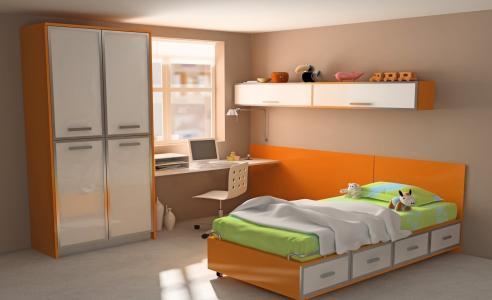 公寓,房间,明亮,设计,风格,室内装饰