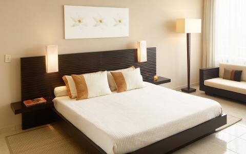 房间,床,书,墙,地板,室内,卧室