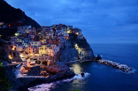 意大利五渔村优美风景