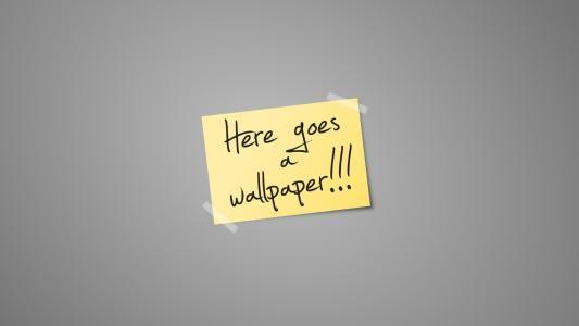 题字,贴纸,极简主义,这里去壁纸,文字,纸