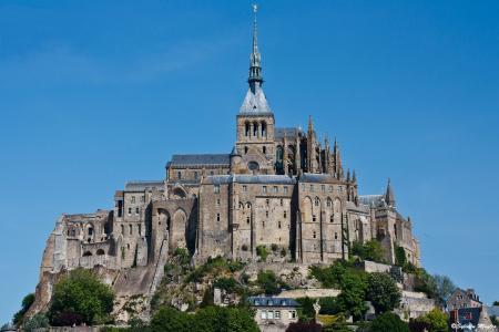 法国,诺曼底,城堡,堡垒,美丽