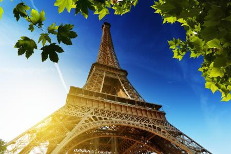 埃菲尔铁塔,巴黎,埃菲尔铁塔,法国,巴黎,拉埃菲尔铁塔