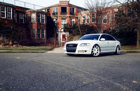 白色,奥迪A8,汽车,A8,调整自动,汽车,奥迪,调整汽车,壁纸汽车,壁纸汽车