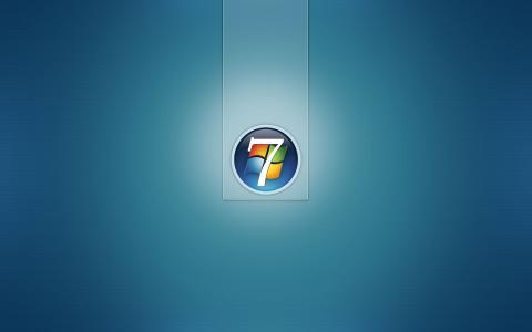 壁纸,圆形标志,Windows 7