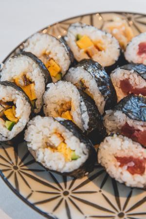 诱人的寿司