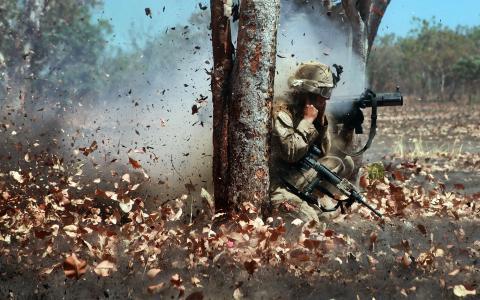 战斗,导弹系统,射击
