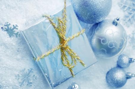 雪花,度假,玩具,绳子,棉花,盒子