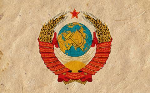 国徽,苏联,锤子和镰刀,壁纸