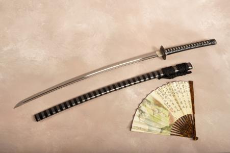 鞘,剑,风扇,武士刀