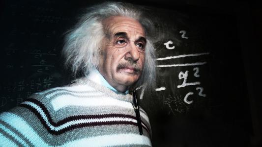 科学家,宇宙学,男人,爱因斯坦,e = mc2,理论家,物理学家,阿尔伯特·爱因斯坦
