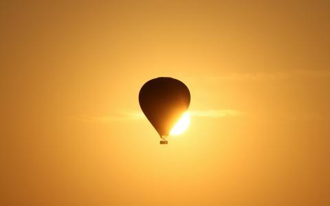 光,运动,天空,球