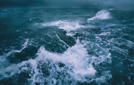 波,风暴,挪威,Mikhalyuk谢尔盖