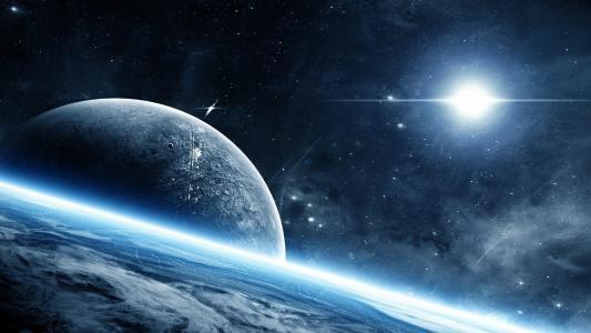 美丽神秘的星空
