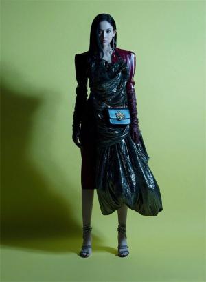 娜扎时尚海盗装写真